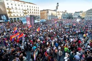 manifestación república madrid
